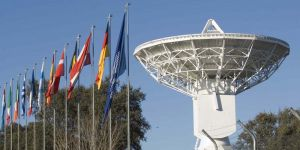 Het European Space Astronomy Centre in Spanje